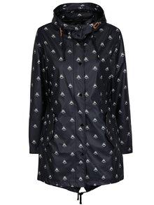 Černá dámská pláštěnka s potiskem Tom Joule Mistral
