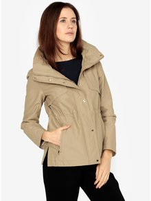 Jacheta bej cu guler inalt pentru femei s.Oliver
