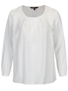 Bluza alba cu decolteu rotund Ulla Popken