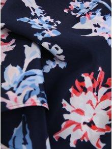 Esarfa bleumarin cu print floral - Tom Joule Myriam