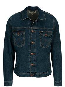 Jacheta bleumarin din denim pentru barbati - Wrangler Regular
