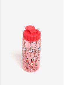 Červená dievčenská fľaša s potlačou Tyrrell Katz Ballet