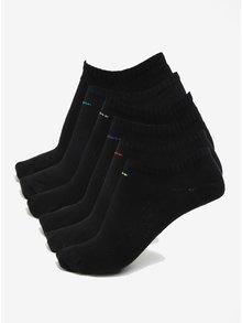 Set de 6 perechi de sosete negre pentru femei - Nike