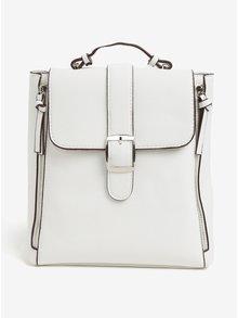 Krémový batoh s ozdobnými zipsami Bessie London