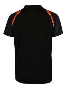 Černé pánské polo tričko Sergio Tacchini Magma