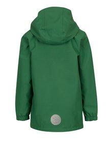Zelená chlapčenská vodovzdorná funkčná bunda s kapucňou Lego Wear Jakob