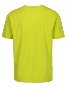 Svetlozelené pánske tričko s výšivkou Sergio Tacchini Daiocco