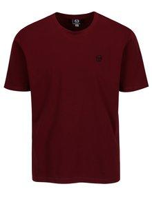 Vínové pánske tričko s výšivkou Sergio Tacchini Daiocco