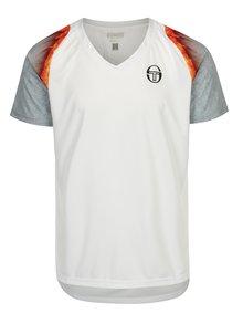 Biele pánske športové tričko Sergio Tacchini Magma
