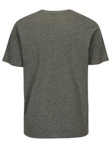 Sivé pánske tričko s potlačou Sergio Tacchini Leto