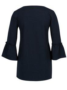 Bluza bleumarin cu maneci 3/4 clopot pentru alaptat Mama.licious Phie