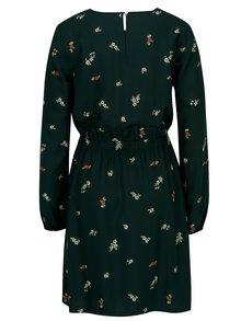 Rochie verde cu print floral - s.Oliver