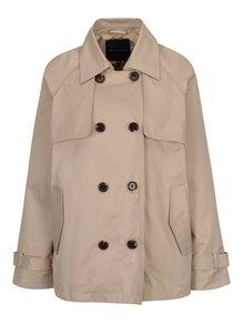Béžový dámský krátký kabát Broadway Breena