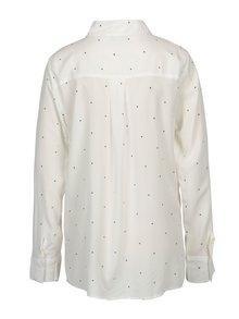 Biela vzorovaná dámska košeľa Broadway Ailien