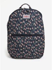 Tmavomodrý dámsky vzorovaný batoh Cath Kidston