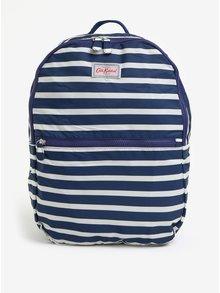 Krémovo-modrý dámsky vzorovaný batoh Cath Kidston