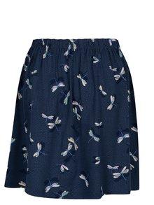 Tmavě modrá vzorovaná sukně Cath Kidston