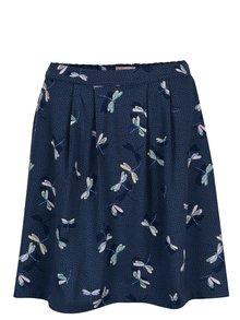 Tmavomodrá vzorovaná sukňa Cath Kidston