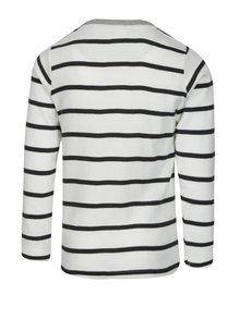 Černo-krémové pruhované klučičí tričko small rags Gustav