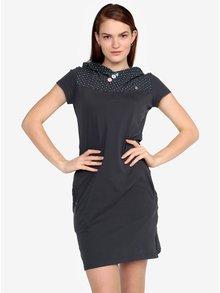 Tmavosivé šaty Ragwear Chelsea Dress