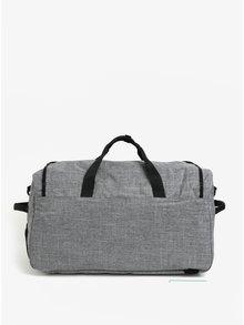 Sivá melírovaná cestovná taška s ramennými popruhmi Herschel Outfitter 63 l