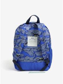 Tmavomodrý chlapčenský vzorovaný batoh Tom Joule