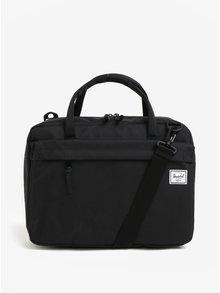 Čierna taška na notebook Herschel Gibson 15 l