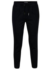 Pantaloni bleumarin cu siret in talie ONLY Poptrash