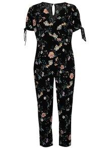 Čierny kvetovaný overal Dorothy Perkins Curve