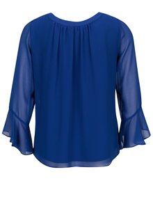 Bluza albastra cu maneci clopot  Billie & Blossom