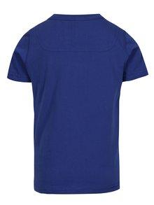 Tmavě modré klučičí tričko s potiskem žraloků Tom Joule