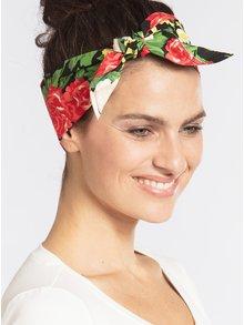 Bentita neagra cu model floral - Blutsgeschwister