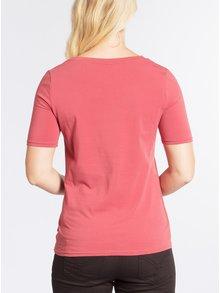 Cihlové basic tričko s krátkým rukávem Blutsgeschwister