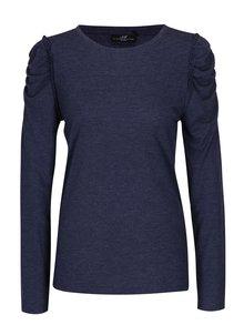 Bluza bleumarin cu maneci incretite Jacqueline de Yong Fanny