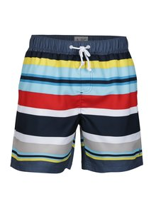 Pantaloni scurti de baie in dungi multicolore - Original Penguin Large Stripe
