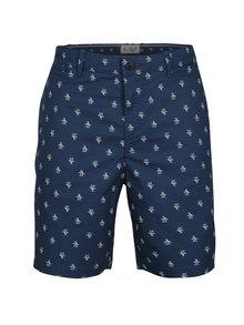 Pantaloni chino scurti bleumarin cu print - Original Penguin Re-pete