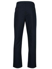 Pantaloni bleumarin din amestec de in - Original Penguin Relaxed Linen