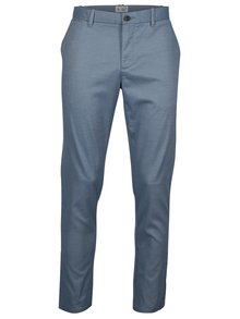 Modré slim fit chino nohavice Original Penguin Large End on End