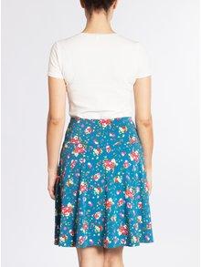 Modrá květovaná sukně Blutsgeschwister