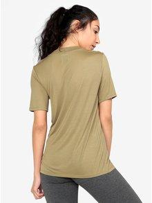 Kaki tričko s potlačou Ivy Park