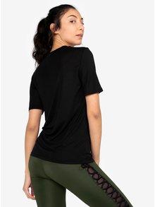 Čierne tričko s potlačou Ivy Park