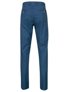 Modré pánské slim chino kalhoty GANT