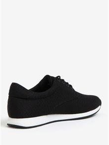 Pantofi sport negri cu model in relief pentru femei Vagabond Kasai