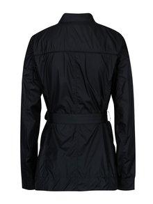 Tmavomodrá dámska tenká bunda s opaskom Geox