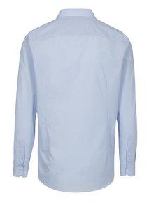 Svetlomodrá slim fit formálna košeľa Burton Menswear London