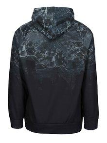 Čierna pánska mikina so vzorom Burton Menswear London