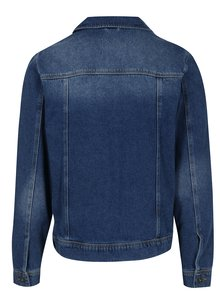 Jacheta albastra din denim pentru barbati - Burton Menswear London