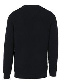 Tmavomodrý pánsky rebrovaný sveter s.Oliver