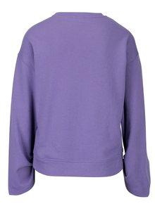 Bluza mov cu snur pentru ajustarea manecilor Jacqueline de Yong Alpha