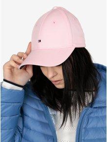 Světle růžová dámská kšiltovka Tommy Hilfiger